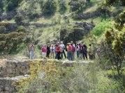 Últimas explicaciones en la presa del Gasco